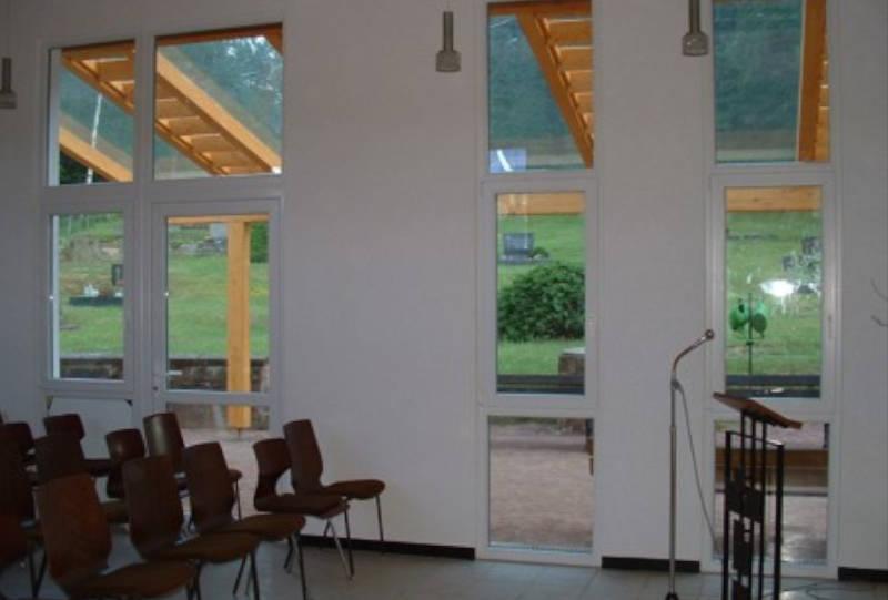 Procjekt Friedhof Krickenbach innen