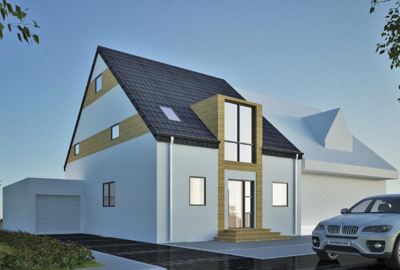 Doppelhaushälfte Architektur in Dinslaken